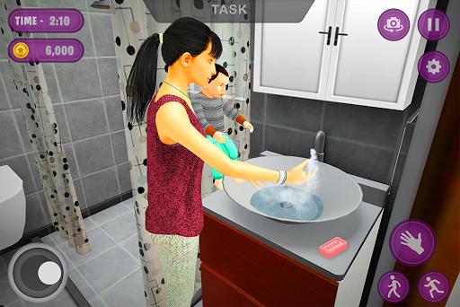 Virtual Twins mom: Mother Simulator Family life 3 screenshots 10