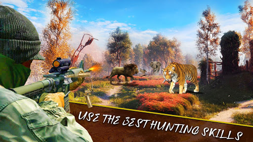 Animal Hunting Sniper Shooter: Jungle Safari filehippodl screenshot 1