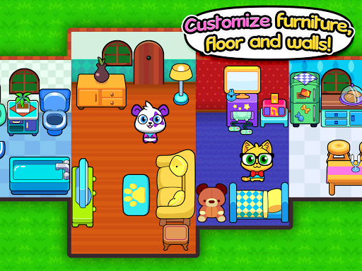 Forest Folks - Cute Pet Home Design Game 1.0.5 Screenshots 7