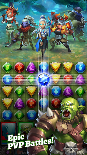 Dragon Strike: Puzzle RPG 0.3.7 screenshots 3