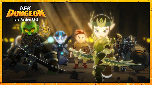 AFK Dungeon : Idle Action RPG  screenshots 1