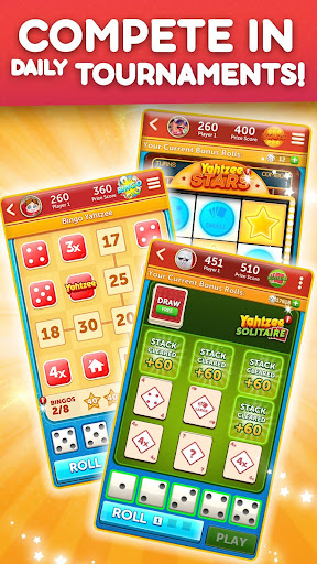 YAHTZEEu00ae With Buddies Dice Game 8.0.2 screenshots 4