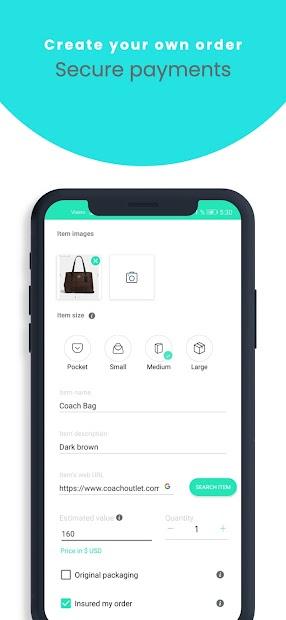 H2D- International Shopping and Shipping screenshot 2