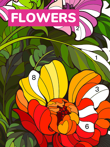 Color Flow - Color by Number. Coloring games. 1.9.2 screenshots 14