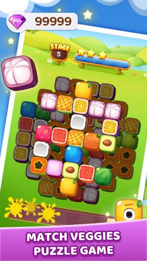 Veggie Tile: Match Puzzle  screenshots 3
