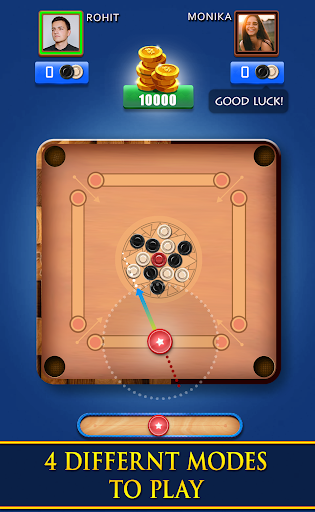 Carrom Royal - Multiplayer Carrom Board Pool Game 10.5.8 screenshots 1