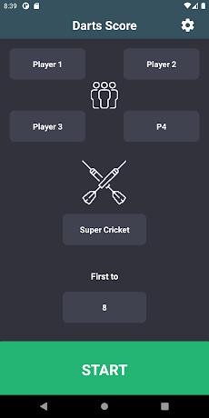 Darts Score Easy scoreboardのおすすめ画像1