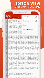 HTML Source Code Viewer Website MOD APK (Unlocked) 9