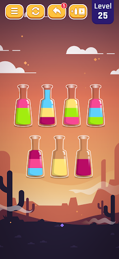 Perfect Pouring - Color Sorting Puzzle Game android2mod screenshots 4