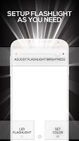 Bright Screen + LED Flashlight