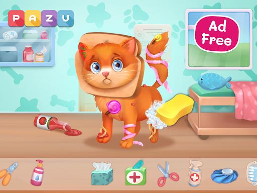 Pet Doctor - Animal care games for kids Apkfinish screenshots 6