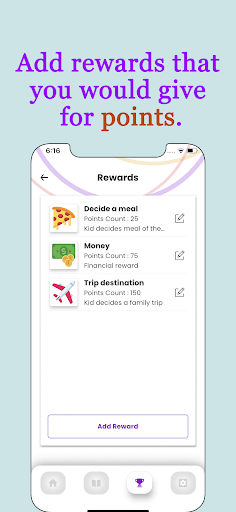 Points - Behavior tasks rewards  Screenshots 3