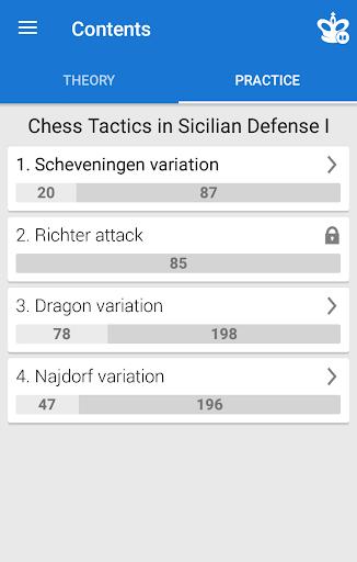 Chess Tactics in Sicilian Defense 1  screenshots 2