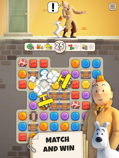 Tintin Match android2mod screenshots 8