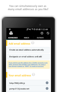 InstAddr Mod Apk- Instant Email Address (Full Unlocked) 9
