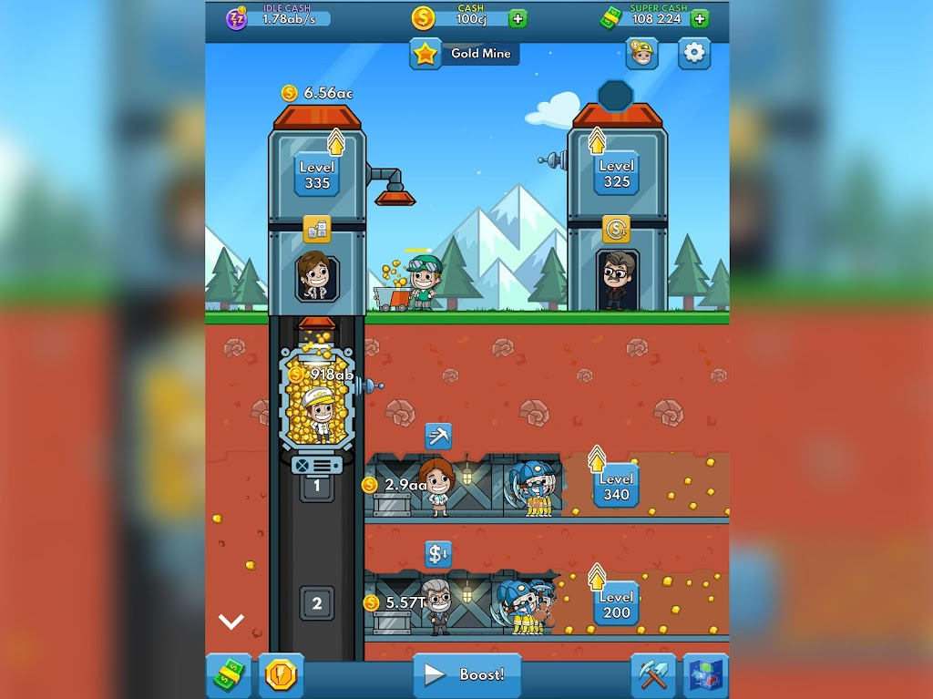 Idle Miner Tycoon: Mine & Money Clicker Management  poster 13