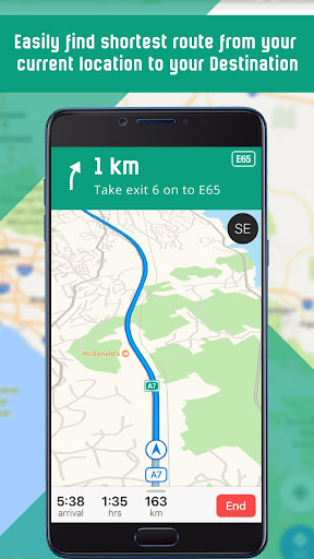 Free GPS Navigation: Offline Maps and Directions  Screenshots 2