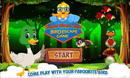 Jungle Adventure Game for Kids – SuperHero Birds Game APP 1