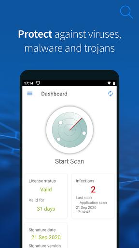 G DATA Mobile Security Light  screenshots 1