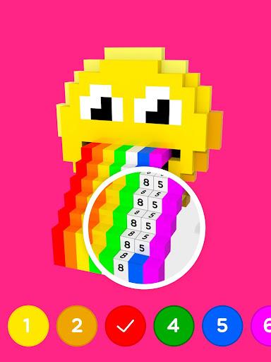 Number Coloring u2013 3D No.Draw screenshots 11