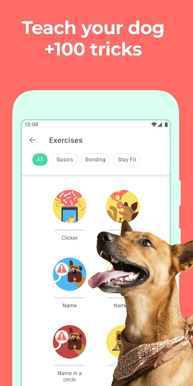 Dog & Puppy Training App with Clicker by Dogo  poster 0