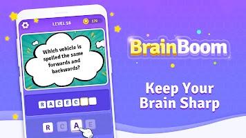 BrainBoom: Word Brain Games, Brain Test Word Games