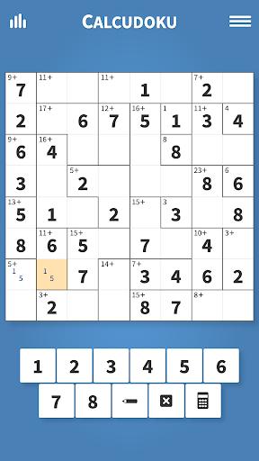 Calcudoku u00b7 Math Logic Puzzles Apkfinish screenshots 1