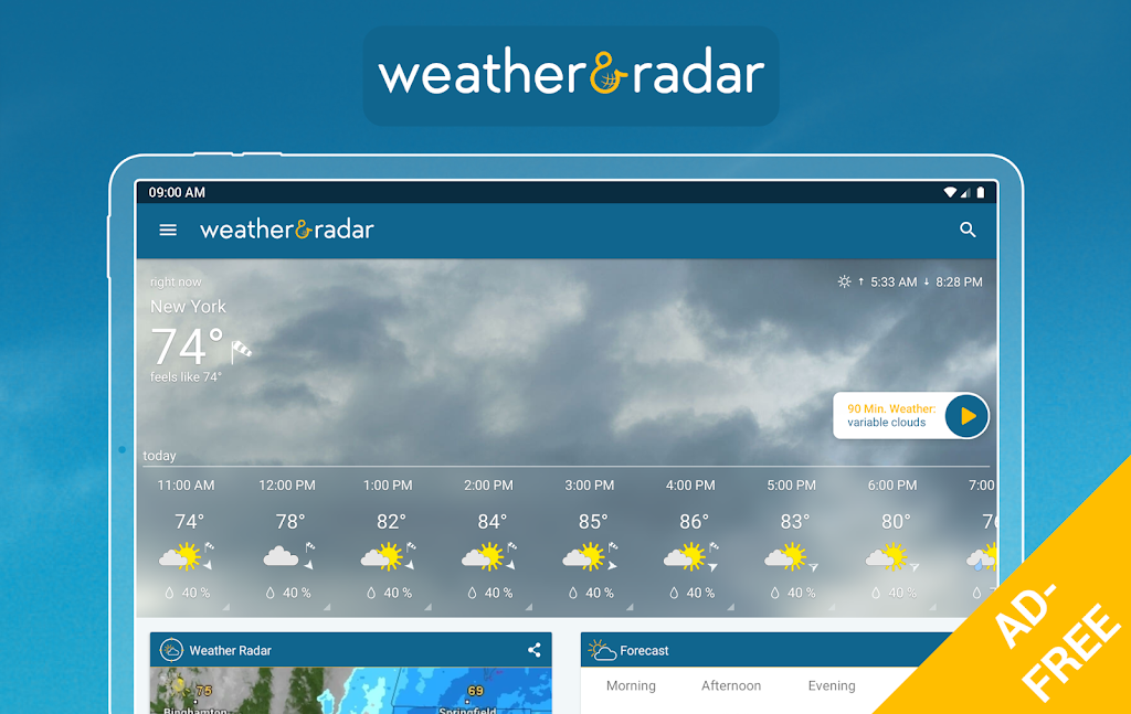 Weather & Radar USA - ad free poster 6