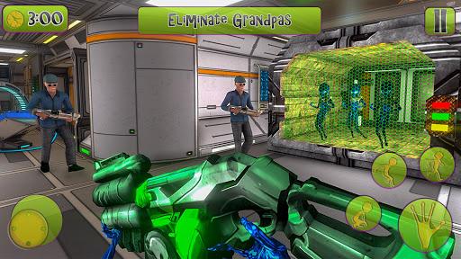 Green Alien Prison escape Game 2020 screenshots 2