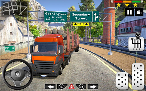Cargo Delivery Truck Parking Simulator Games 2020  screenshots 4