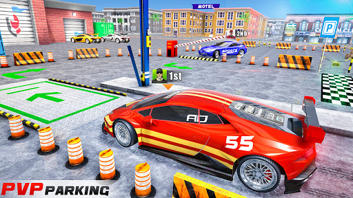 Modern Car Drive Parking Free Games - Car Games 3.87 Screenshots 4