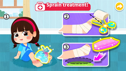 Baby Panda's First Aid Tips  screenshots 4