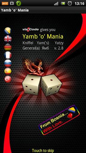 Yamb o Mania 2.96 screenshots 1