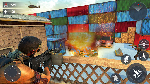 Modern Commando Shooting 3D : Free Shooting Games 1.0 screenshots 3