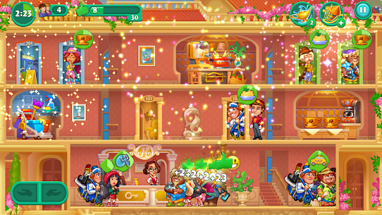 Grand Hotel Mania Mod 1.9.3.6 Apk [Unlimited Diamonds] 4