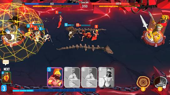 Trojan War 2: Clash Cards Game Mod Apk 1.1.1 (A Lot of Currency) 2