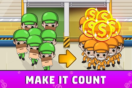 Idle Factory Tycoon: Cash Manager Empire Simulator MOD (Unlimited Coins) 2