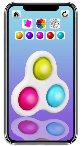 DIY Simple Dimple Pop It Fidget Toys Calming Games  screenshots 8