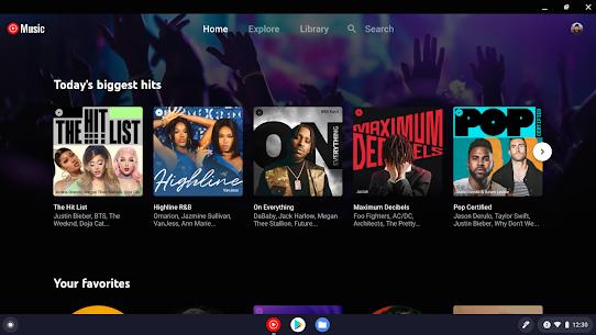 YouTube Music for Chromebook 1