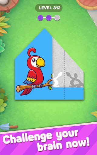 Paper Fold Puzzle: Easy Origami - Paper Folding  screenshots 18