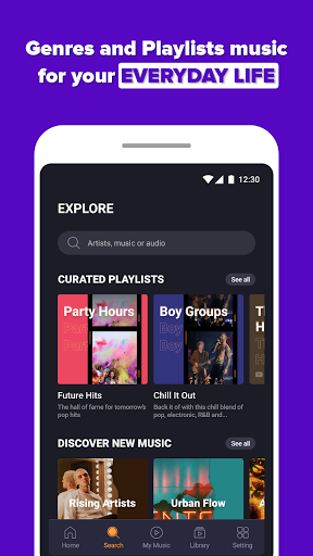 Free Music Streaming: Trending for Tube Music Song  screenshots 5