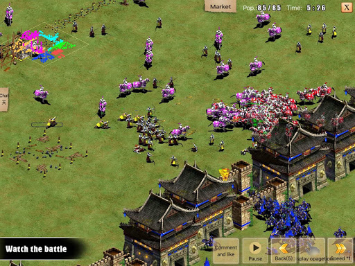 War of Empire Conquestuff1a3v3 Arena Game android2mod screenshots 10