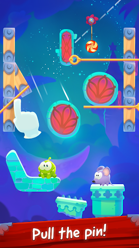 Om Nom Pin Puzzle android2mod screenshots 1
