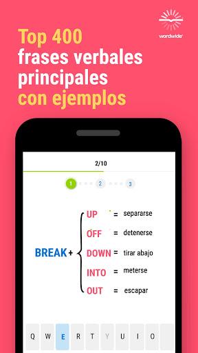 Inglu00e9s y Worldwide: aprende mu00e1s palabras screenshots 3