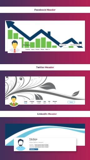 Social Media Cover Maker 2.0 Screenshots 2