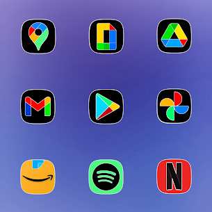 One UI Fluo Apk- Icon Pack 2.1.7 (Paid) 4