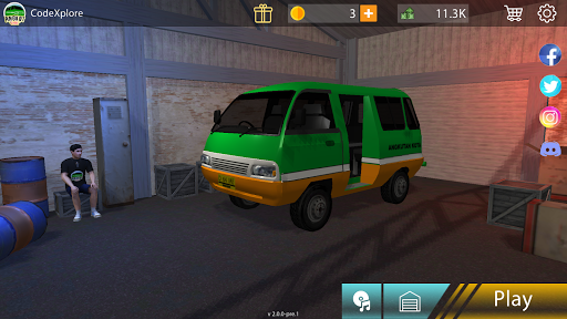 Angkot d Game apklade screenshots 2