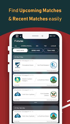 Live Line & Cricket Scores - Cricket Exchange  Screenshots 5