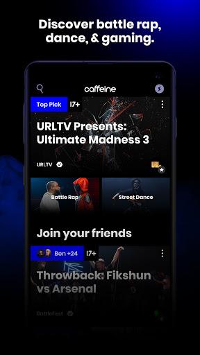 Caffeine: Live Streaming 1.12.6 screenshots 2
