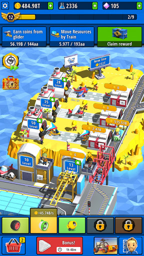 Idle Inventor - Factory Tycoon  screenshots 2